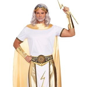 Dream girl guy Men's Zeus Costume Sz M NEW